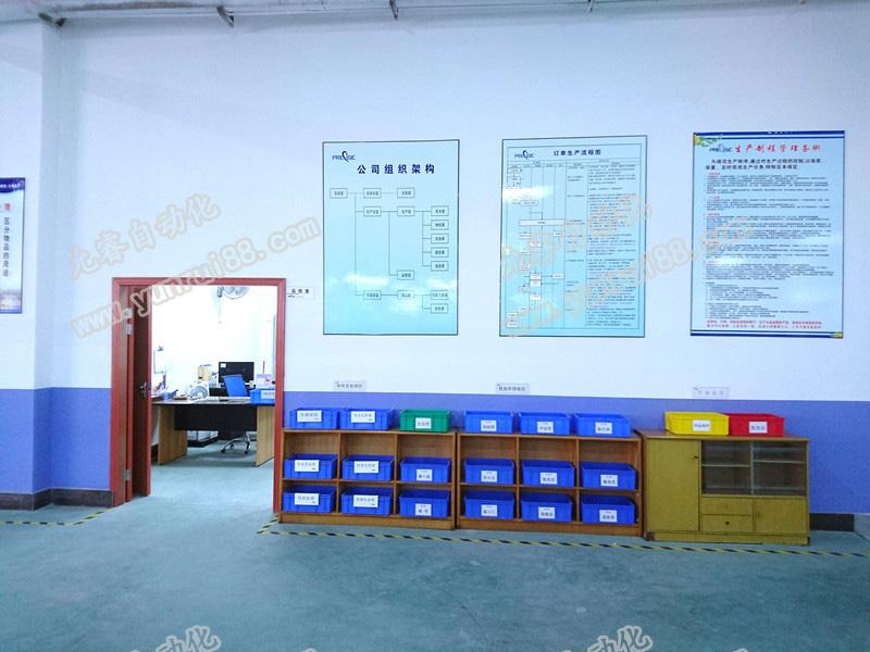 允睿自动化有限公司严格按照ISO9001质量管理体系规范